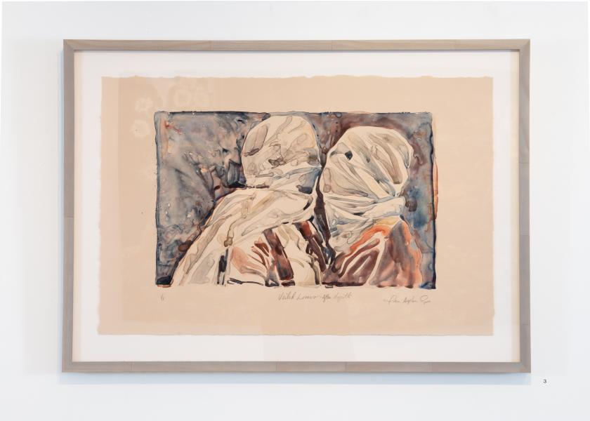 Veiled Lovers after Magritte