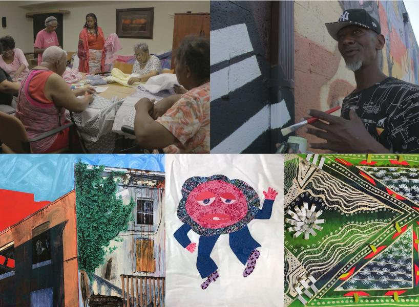 East Baltimore: Her Artists and Her People Postcard