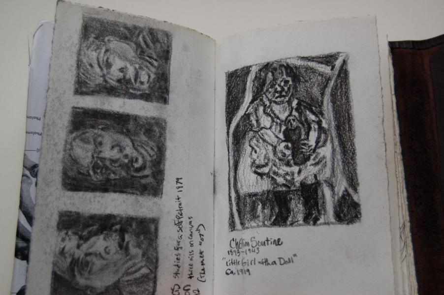 Francis Bacon/Chaim Soutine Studies