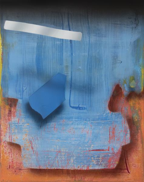 Janet Olney, abstract painting, contemporary art, MICA