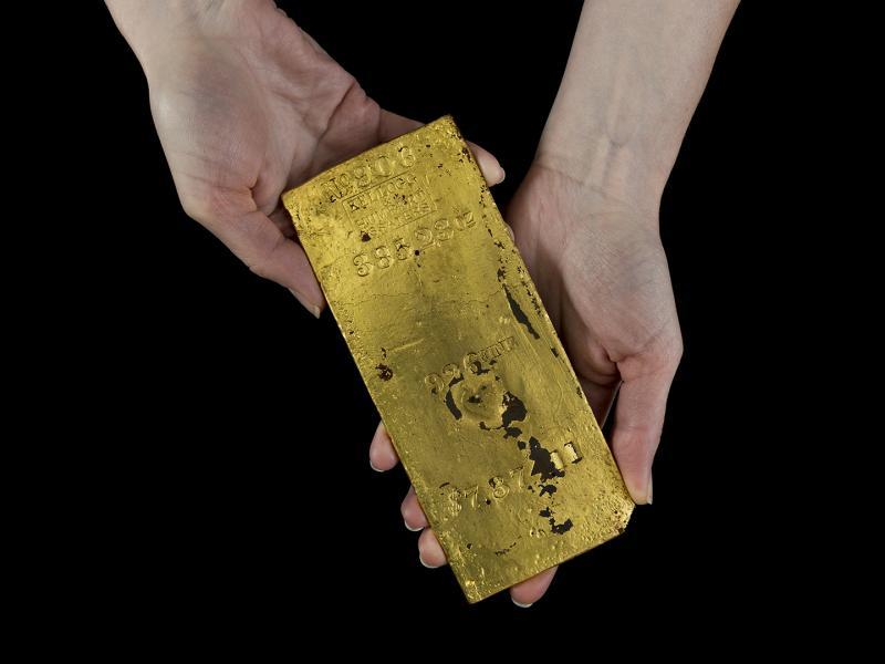 Gold Ingot Faceplate
