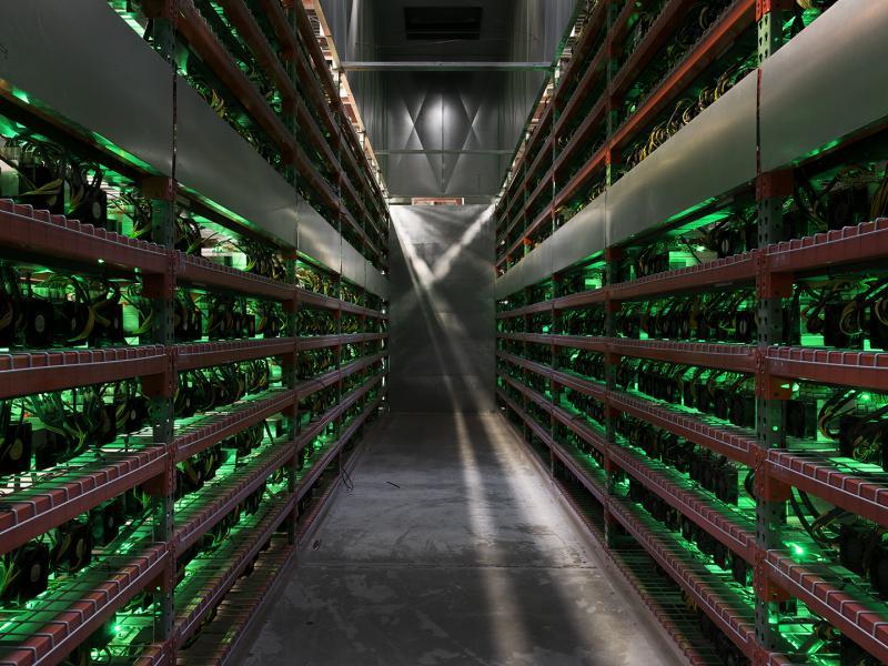Hot Aisle (Cryptocurrency Farm)