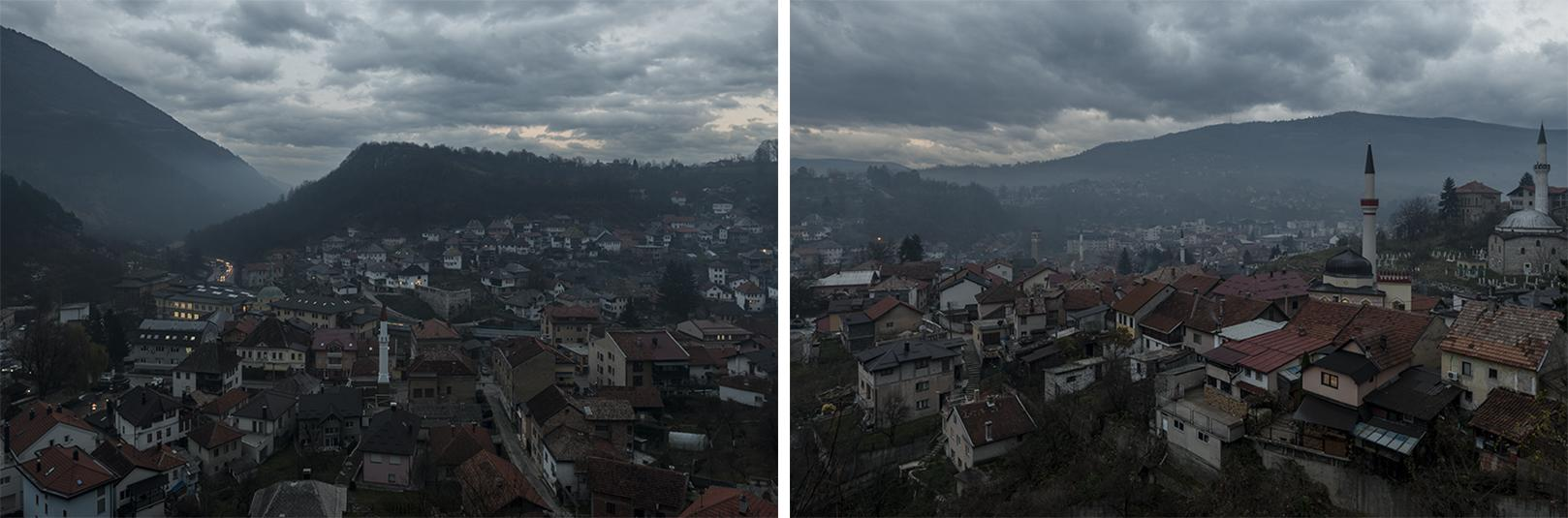 Travnik Dusk (Diptych)
