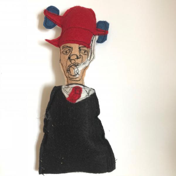 political satire, political dolls. catnip toys