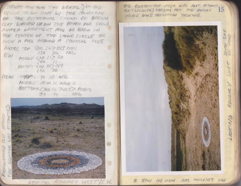 stone circle, earth art, land art