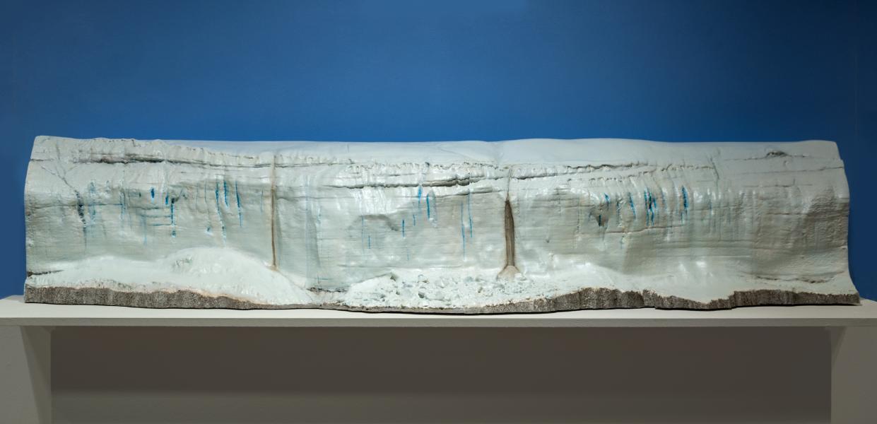 Canada Glacier from Lake Hoare, Antarctica