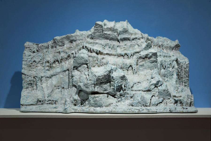 """Giant's Face"""" Pressure Ridge, McMurdo Sound, Antarctica"""