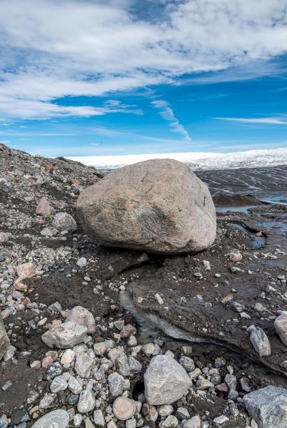 Melting Permafrost, Greenland Ice Sheet