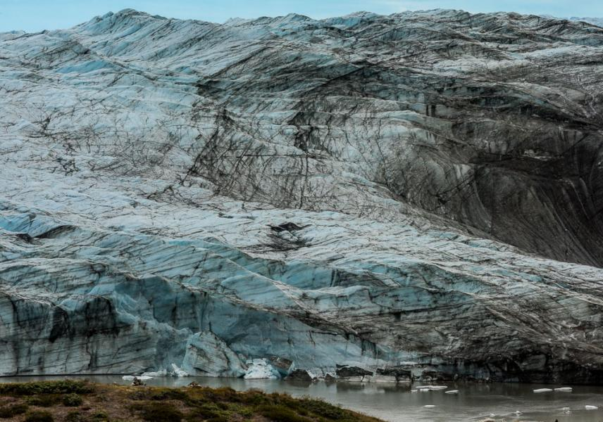 Glacier Face, Isunngua Valley