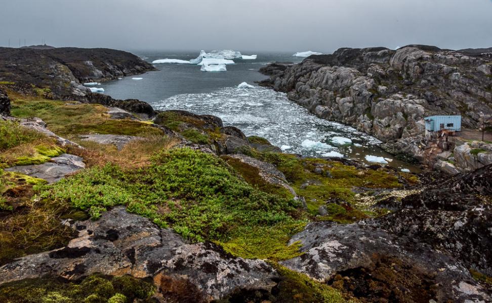 Rectangular Rhythms, Qeqertarsuaq, Disko Island, Greenland
