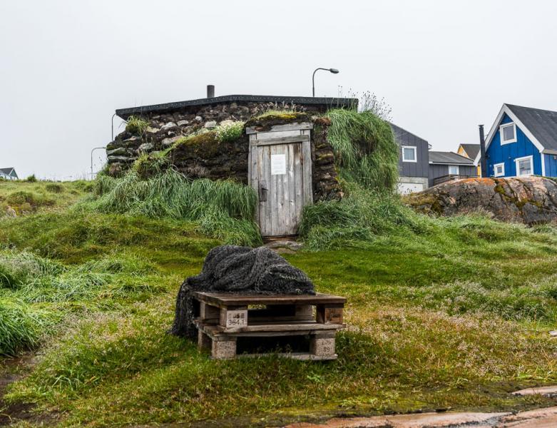 Turf House, Qeqertarsuaq, Greenland