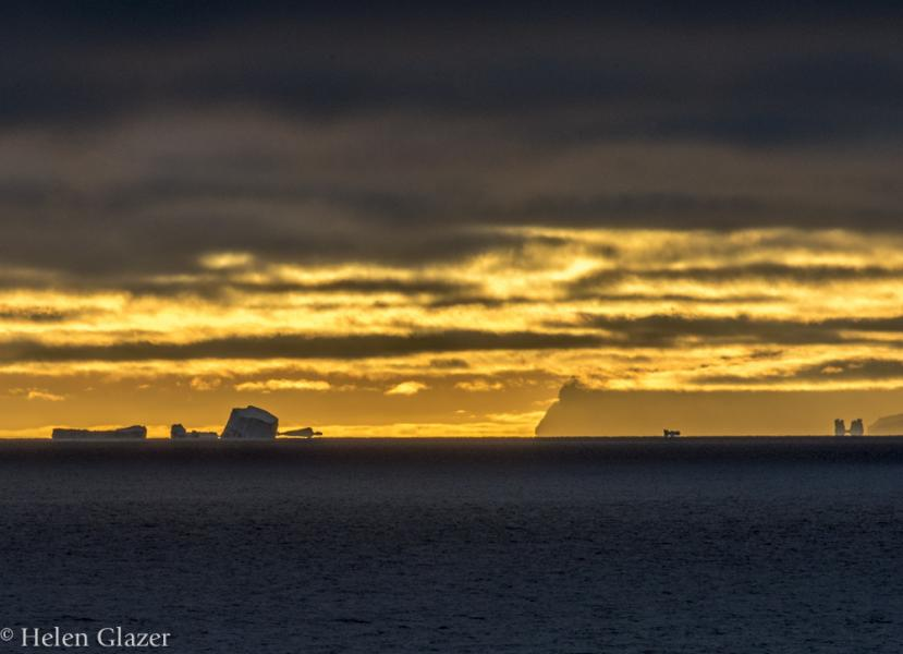 Fata Morgana Icebergs, West Greenland