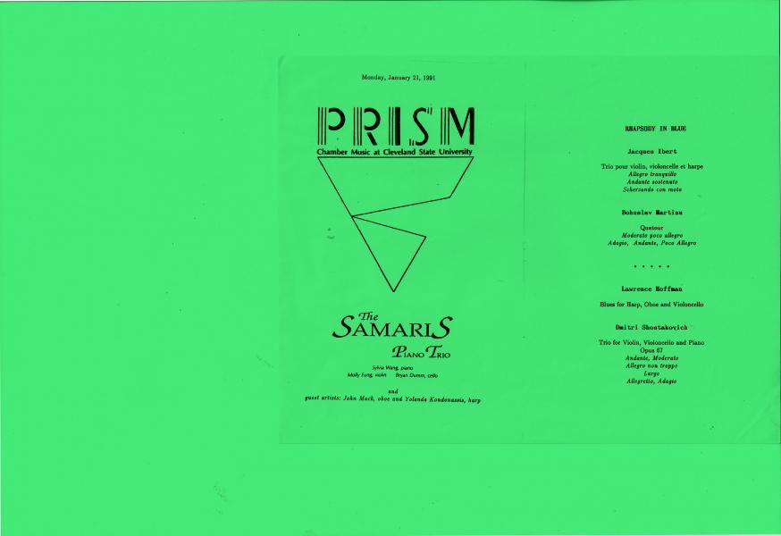 Performance by John Mack, Yolanda Kondonassis,Bryan Dumm