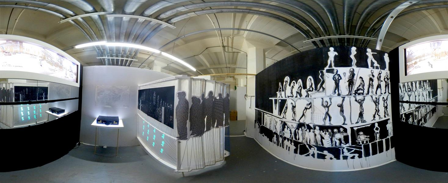 Installation, Mixed Media, Virtual Reality, Documentary, Spanish, Studio, Christopher Kojzar