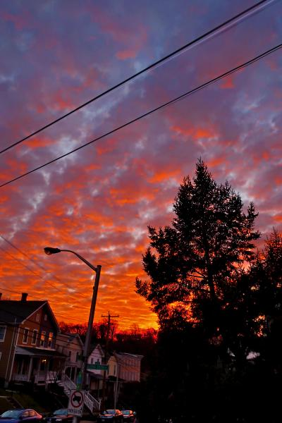 Delirious Baltimore, Another Hampden Sunset, photo by Edward Weiss