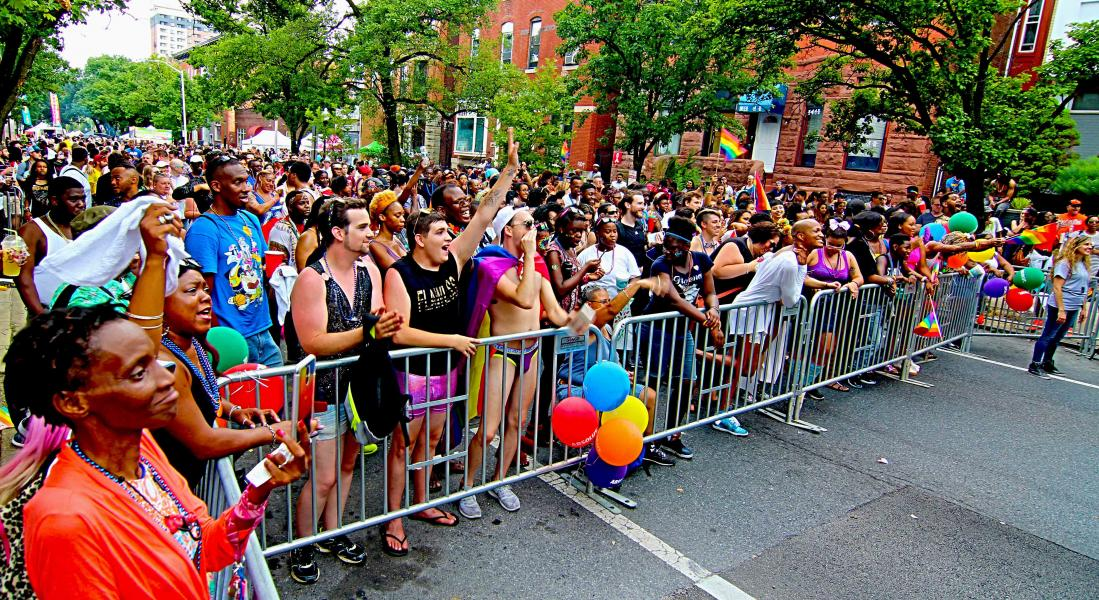 Baltimore City People, Pride in Old Goucher, Photo by Edward Weiss.