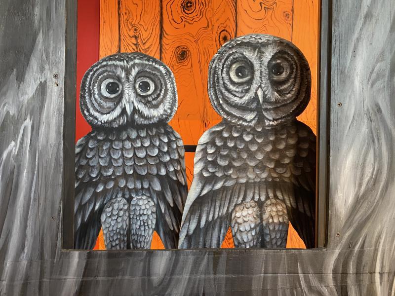 owls, wooden owls, byzantine owls