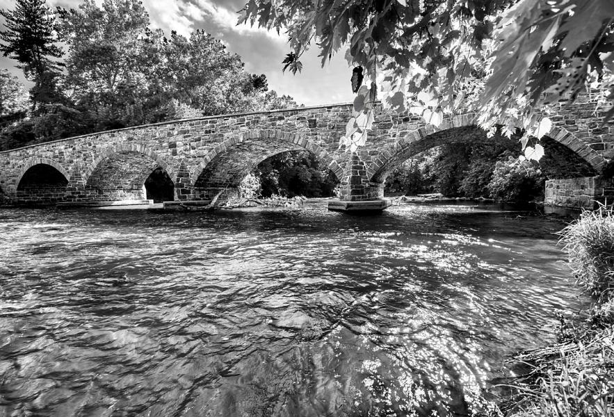 Antietam Ironworks Bridge - 1832