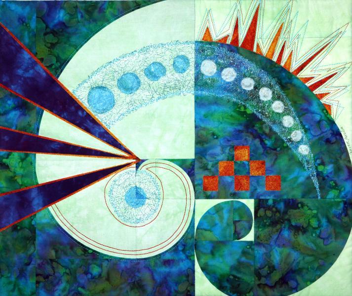 Kandinsky Meets Fibonacci
