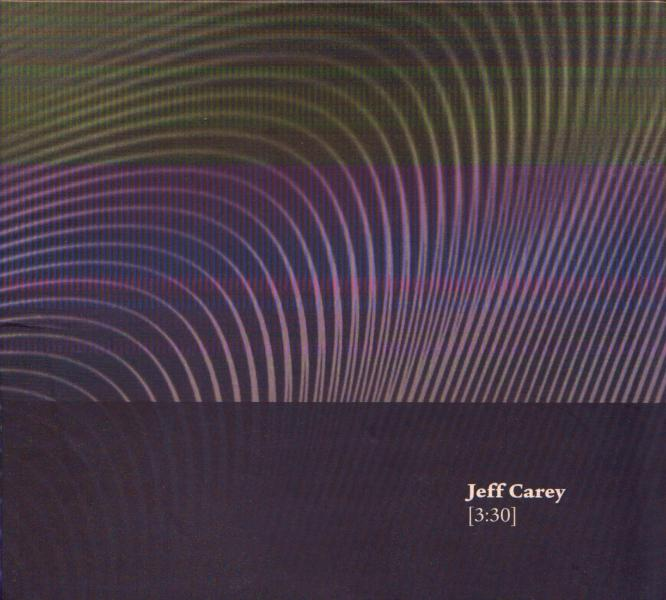 "Cover art for the CD ""[3:30]"" by Jeff Carey.  2013, Forwind, London, UK"