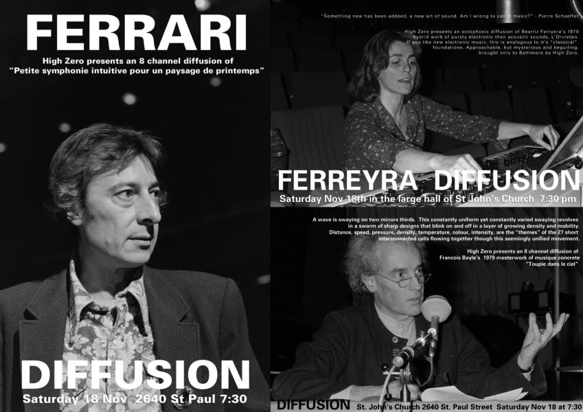 Diffusion Festival posters