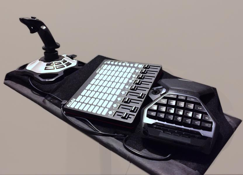 Electro-instrument ctrlKey