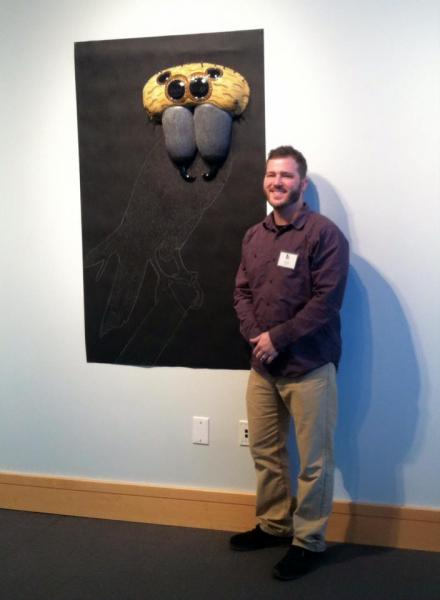 """""""Accipitral Represser"""" at my show """"A Breed of Their Own"""" at BlackRock Center for the Arts in Germantown, MD"""