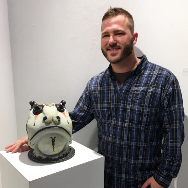 Brad Blair at the Delaplaine Arts Center 2017