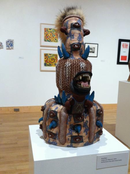 "Brad Blair ""Vulpecular Observer"" Towson University Faculty Biannual Exhibition"
