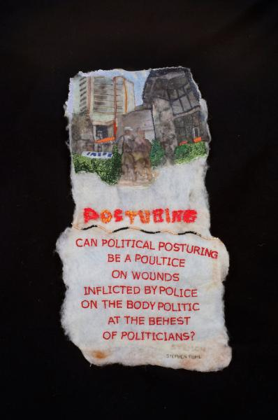Textiles with Poetry -Collaboration