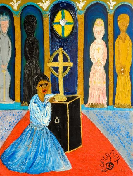 Hilda Harris in the Martyrdom of Saint Magnus