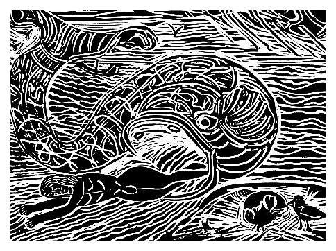 Jonah and The Leviathan