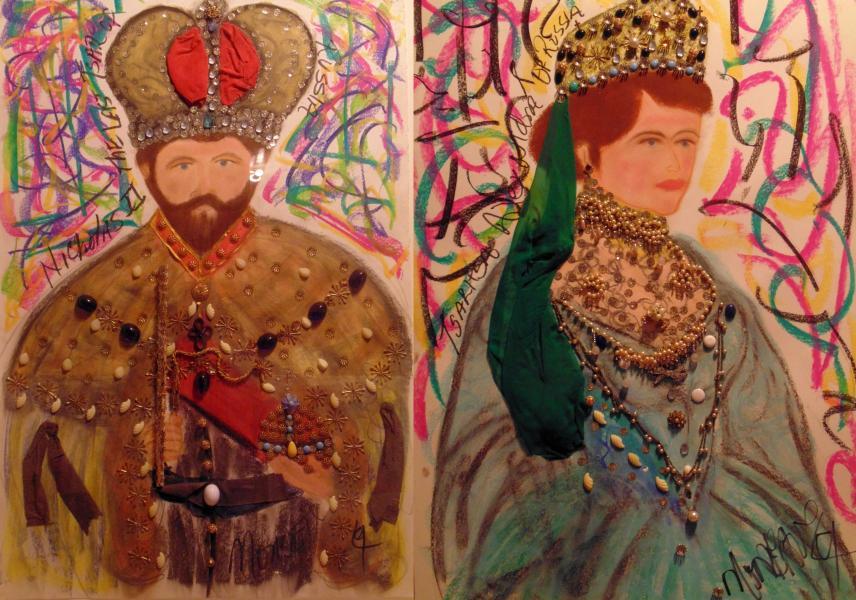 Nicholas II and Tsarita Alexandria of Russia