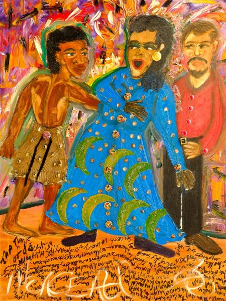 Ruby Hinds in A Mother And Her Three Sons by Bill T Jones