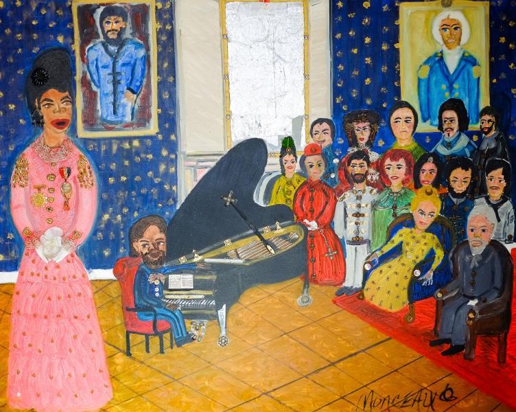 Sissieretta Jones Sings Home Sweet Home In The Blue Room