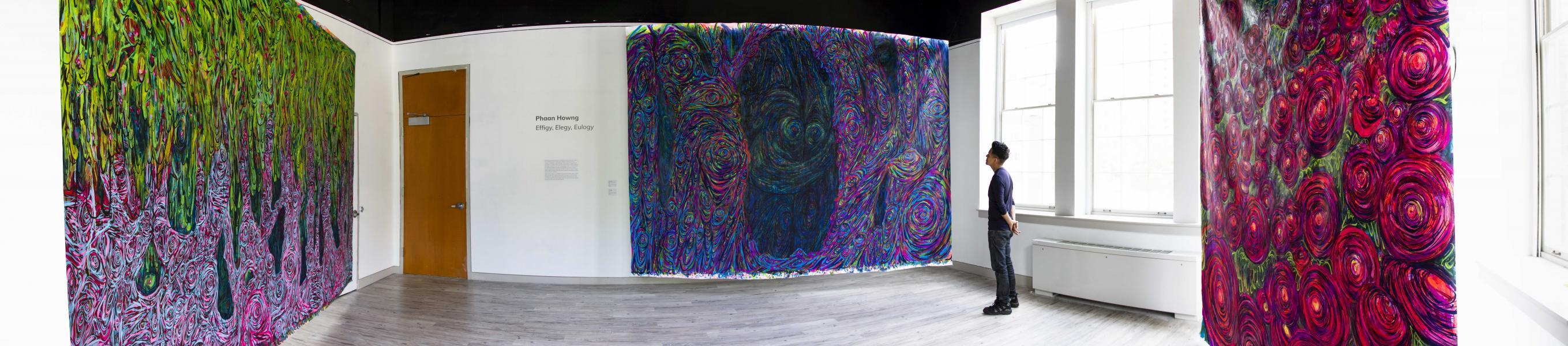 installation, painting