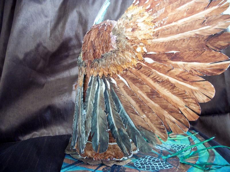 Susan Dorsey_Saw-whet Owl (detail)