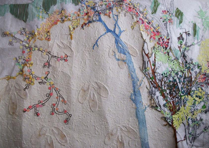 Susan Dorsey_Forest Embroidery