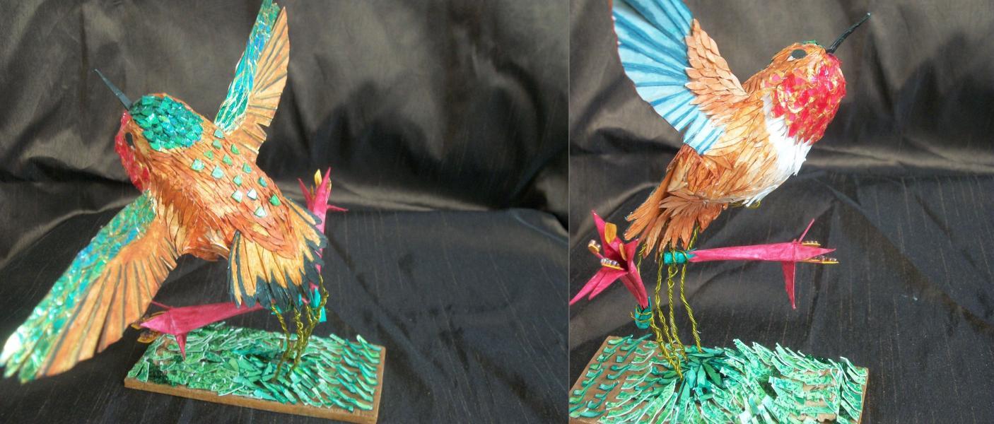 Susan Dorsey_Rufous Hummingbird