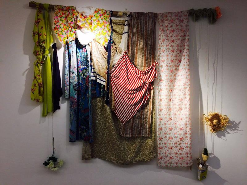 fabric, assemblage, recycle,