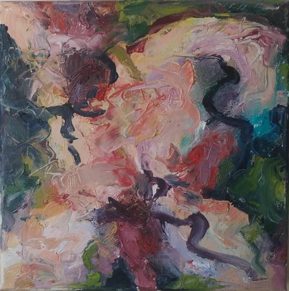 abstract, painting, oil, expressionist