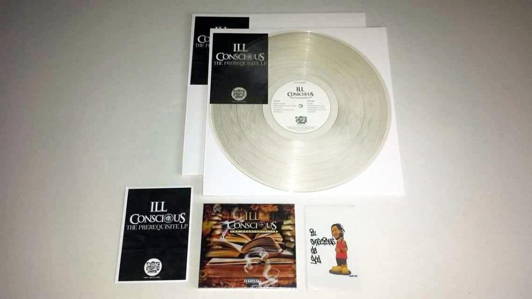 ill conscious, vinyl, cd, chopped herring records