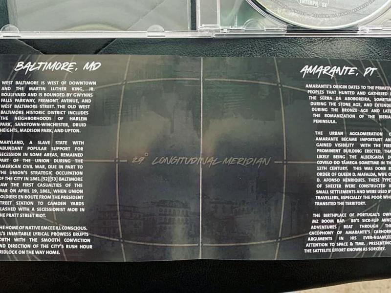 sorcery, ill conscious, booklet, hip hop enterprise, switzerland