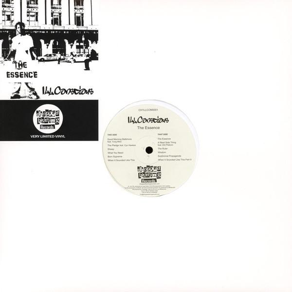 ill conscious, vinyl, the essence, hip hop, chopped herring records, chopped herring