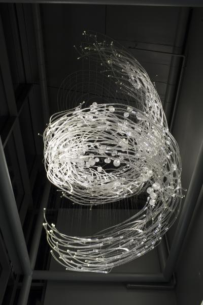 Transference Glass Sculpture
