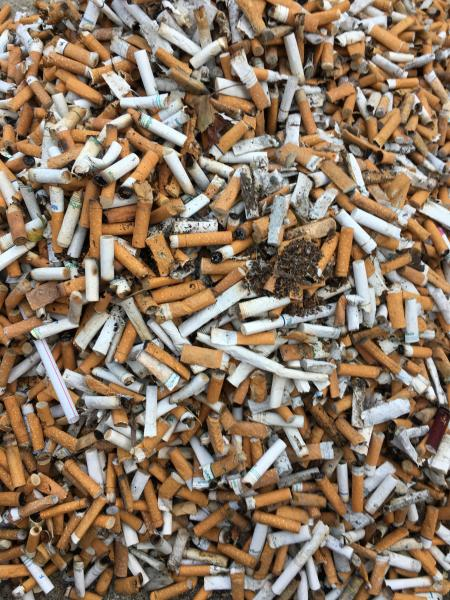 Cigarette Planet - Sorting Butts by color