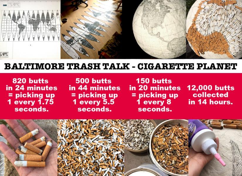 Cigarette Planet Social Media Info-graphic