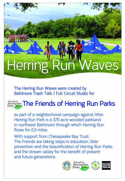 Herring Run Poster (displayed wherever waves are displayed)