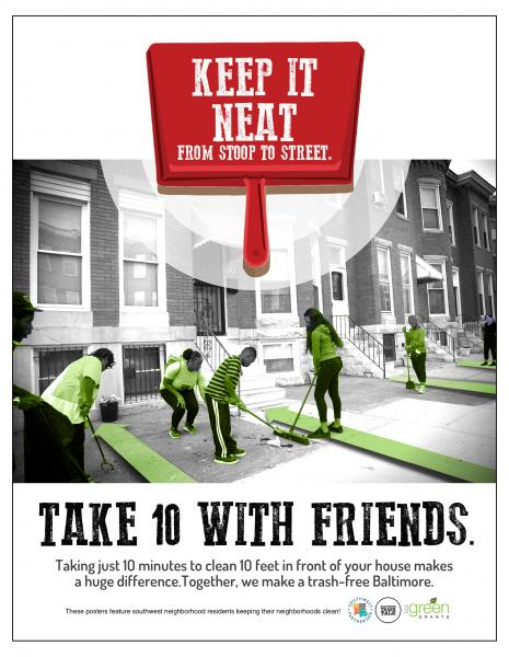 Keep it neat - Take 10 with Friends