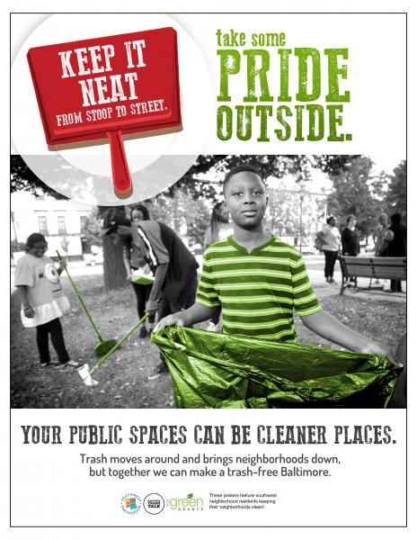 Keep it neat - Pride Outside